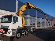 DAF FAD CF 440 8x4 Effer 92 ton/meter laadkraan + Jib Samochody ciężarowe
