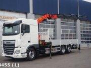 DAF FAN XF 480 6x2 Fabrieksnieuw Palfinger 27 ton/meter laadkraan kamionok