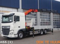 DAF FAN XF 480 6x2 Fabrieksnieuw Palfinger 27 ton/meter laadkraan Грузовой автомобиль
