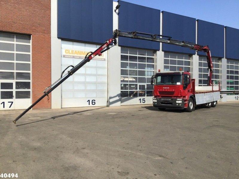 LKW типа Iveco Stralis 6x4 Euro 5 Fassi 21 ton/meter laadkraan (year 2015) + JI, Gebrauchtmaschine в ANDELST (Фотография 1)