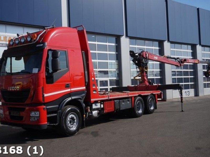LKW typu Iveco Stralis AS260Y50 Euro 5 EEV 12 ton/meter Z-laadkraan, Gebrauchtmaschine w ANDELST (Zdjęcie 1)