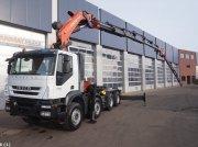 Iveco Trakker 410T45 Just 50.419 km! Palfinger 74 ton/meter laadkraan kamionok