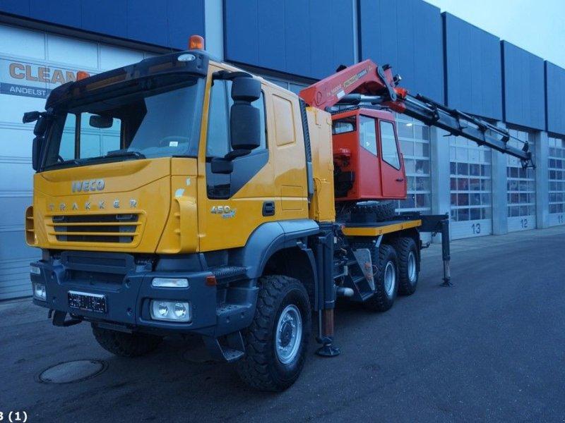 LKW типа Iveco Trakker 450 6x6 Euro 5 Palfinger 56 ton/meter laadkraan, Gebrauchtmaschine в ANDELST (Фотография 1)
