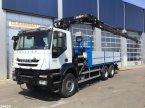 LKW tip Iveco Trakker AD260T33 6x4 Hiab 28 ton/meter laadkraan (year 2010) in ANDELST