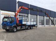 LKW typu Iveco Trakker AD260T38 6x4 HMF 37 ton/meter + JIB, Gebrauchtmaschine v ANDELST
