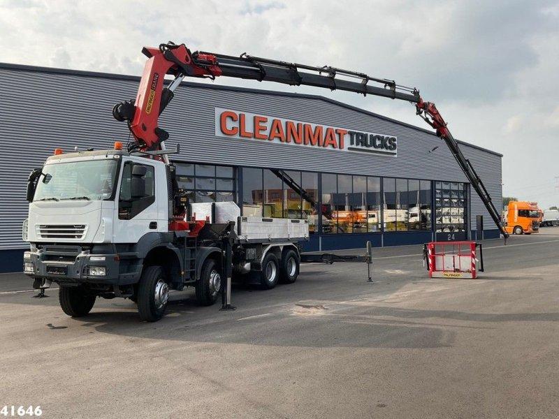 LKW tipa Iveco Trakker AD410T45 8x8 Palfinger 72 ton/meter laadkraan + Fly-Jib, Gebrauchtmaschine u ANDELST (Slika 1)