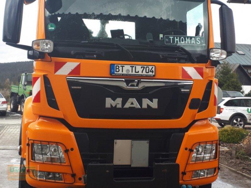 LKW des Typs MAN MAN TGS 28.500 Allrad mit Lenk-Liftachse Hiab Multilift Hakenabroller, Gebrauchtmaschine in Warmensteinach (Bild 7)
