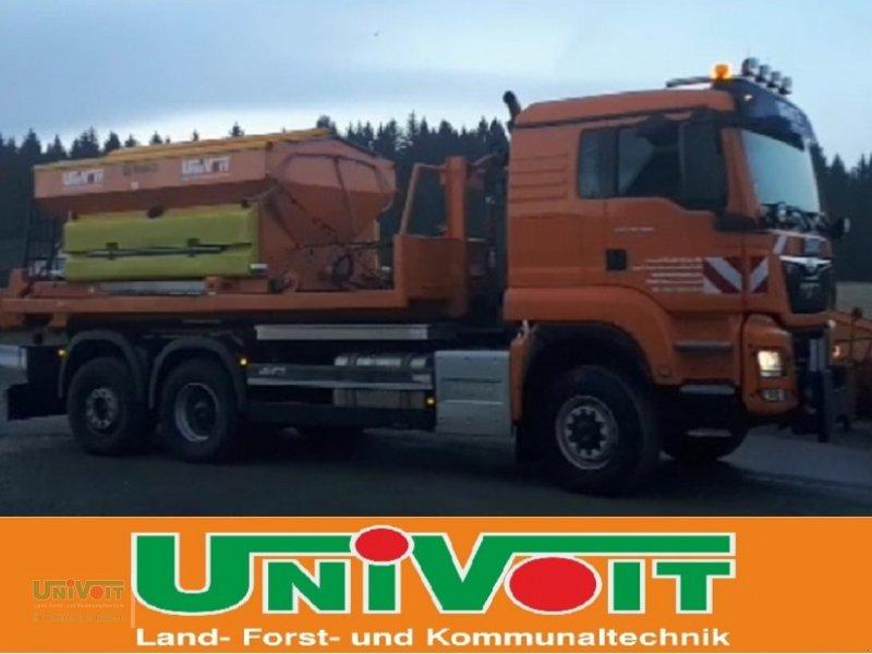 LKW des Typs MAN MAN TGS 28.500 Allrad mit Lenk-Liftachse Hiab Multilift Hakenabroller, Gebrauchtmaschine in Warmensteinach (Bild 4)