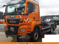 MAN MAN TGS 28.500 Allrad mit Lenk-Liftachse Hiab Multilift Hakenabroller LKW