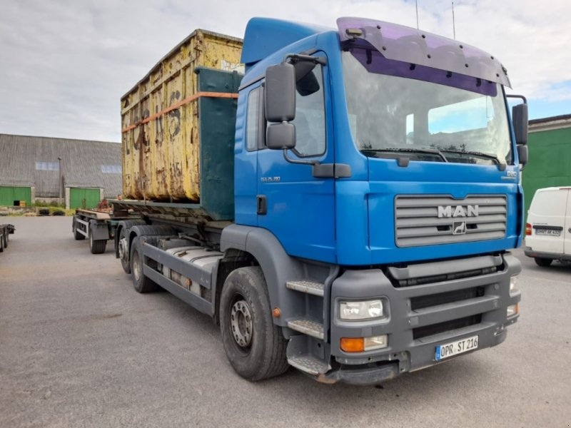 LKW des Typs MAN TGA 26.390 Abrollcontainer Komplettzug, Gebrauchtmaschine in Liebenwalde (Bild 1)
