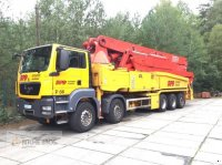 MAN TGS50.480 c/w Putzmeister BSF52 autocamion