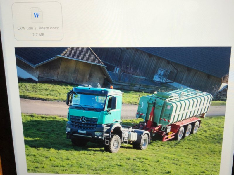 LKW des Typs Mercedes-Benz Agro-Mover, Gebrauchtmaschine in Donaueschingen (Bild 1)