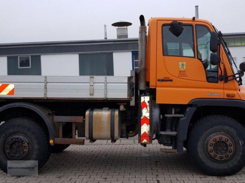LKW des Typs Mercedes-Benz Unimog U 400 Wechsellenkung, Kriechgang EHS,, Gebrauchtmaschine in Kulmbach (Bild 1)