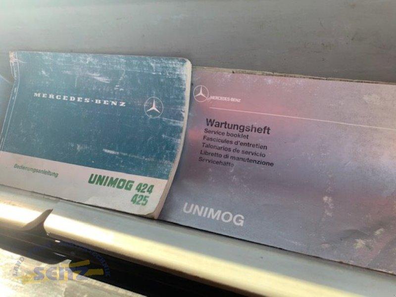 LKW typu Mercedes-Benz Unimog U 427/12 - U1600, Gebrauchtmaschine v Lindenfels-Glattbach (Obrázok 2)
