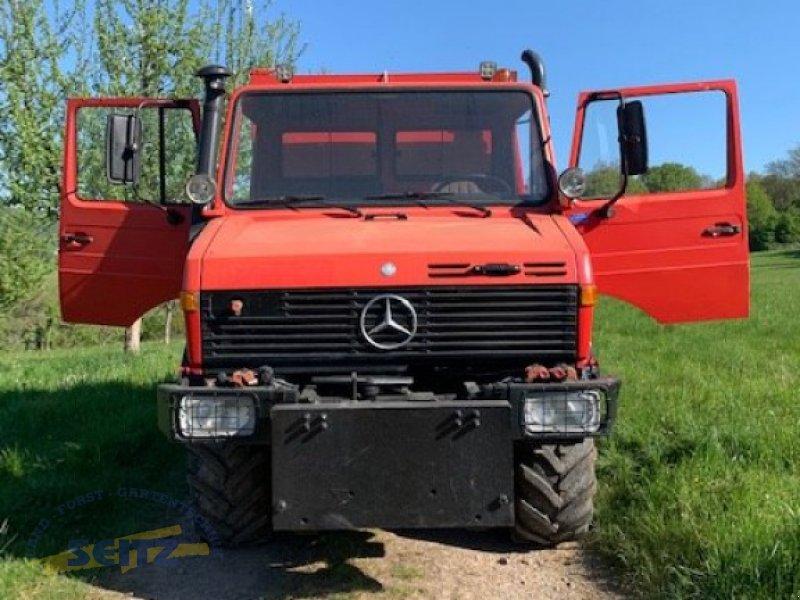 LKW typu Mercedes-Benz Unimog U 427/12 - U1600, Gebrauchtmaschine v Lindenfels-Glattbach (Obrázok 11)