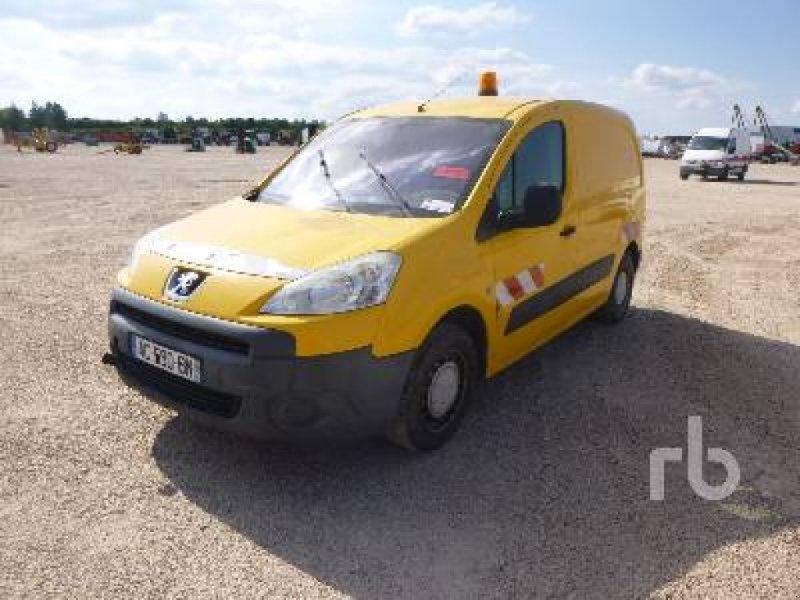 LKW typu Peugeot PARTNER HDI Vehicule Utilitaire Van, Gebrauchtmaschine w St Aubin sur Gaillon (Zdjęcie 1)