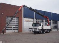Scania G 480 8x4 Retarder Fassi 80 t/m laadkraan + JIB Φορτηγό