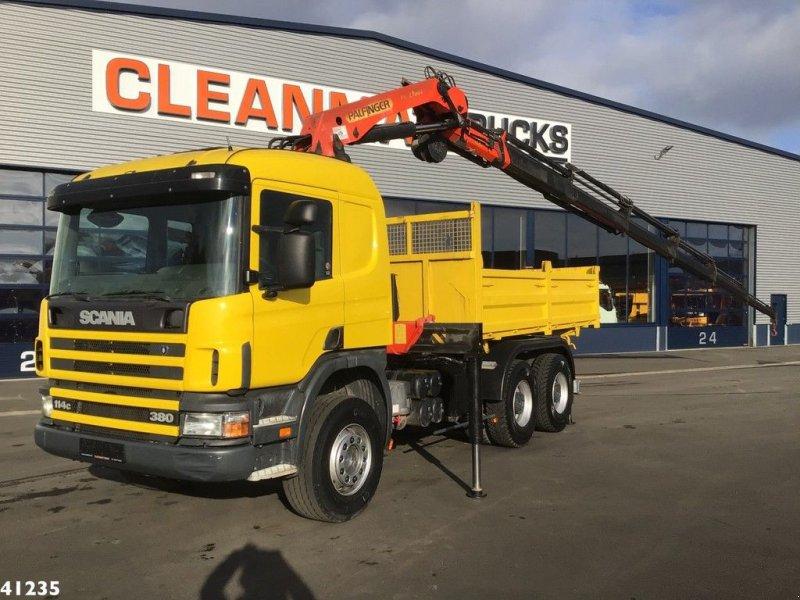 LKW типа Scania P 114.380 6x4 Palfinger 27 ton/meter laadkraan, Gebrauchtmaschine в ANDELST (Фотография 1)
