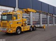 Scania R 124 6x4 Retarder Effer 52 ton/meter laadkraan kamionok