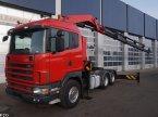 LKW a típus Scania R 124 Palfinger 66 ton/meter laadkraan ekkor: ANDELST