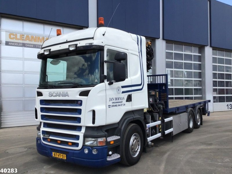 LKW tip Scania R 380 Hiab 37 ton/meter laadkraan, Gebrauchtmaschine in ANDELST (Poză 9)