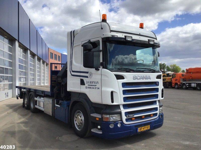 LKW tip Scania R 380 Hiab 37 ton/meter laadkraan, Gebrauchtmaschine in ANDELST (Poză 6)
