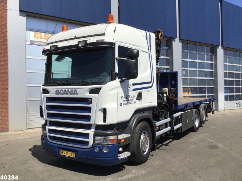 LKW tip Scania R 380 Hiab 42 ton/meter laadkraan, Gebrauchtmaschine in ANDELST (Poză 2)