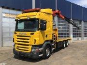 LKW типа Scania R 420 6x4 HMF 21 ton/meter laadkraan, Gebrauchtmaschine в ANDELST