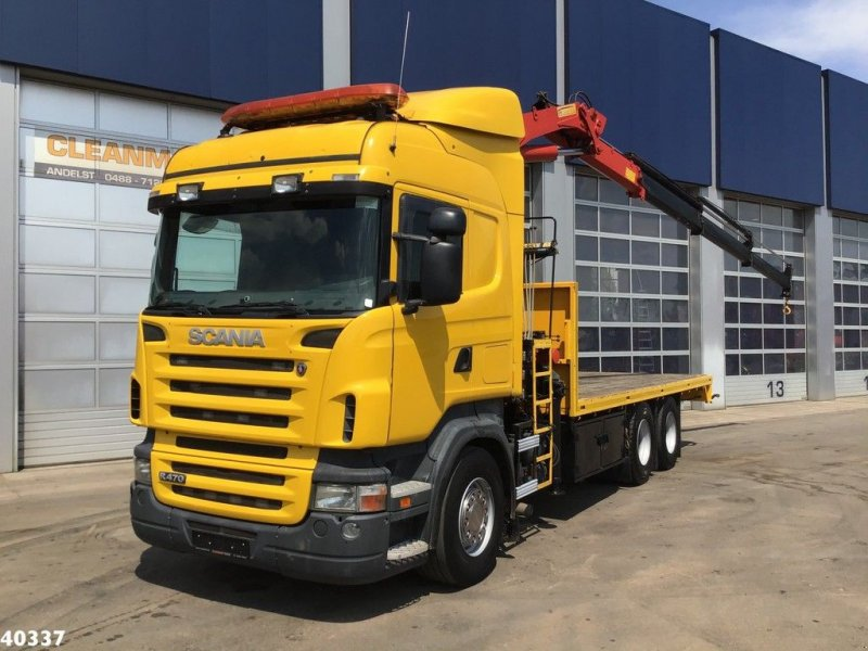 LKW a típus Scania R 420 6x4 HMF 21 ton/meter laadkraan, Gebrauchtmaschine ekkor: ANDELST (Kép 1)