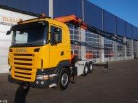 Scania R 420 6x4 Retarder Palfinger 44 ton/meter laadkraan Camion de carga