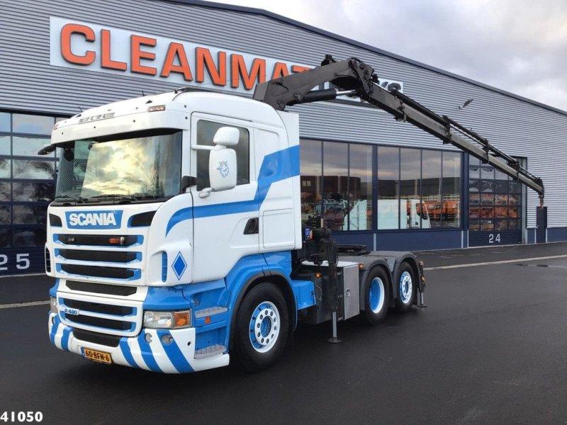LKW typu Scania R 480 6x2 Retarder HMF 22 ton/meter laadkraan, Gebrauchtmaschine w ANDELST (Zdjęcie 1)