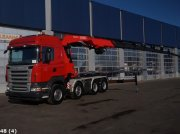 Scania R 500 8x4 V8 Fassi 80 ton/meter laadkraan Φορτηγό