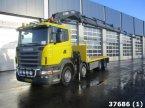 LKW a típus Scania R 620 8x4 V8 Hiab 60 ton/meter laadkraan ekkor: ANDELST