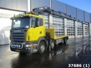 Scania R 620 8x4 V8 Hiab 60 ton/meter laadkraan Φορτηγό