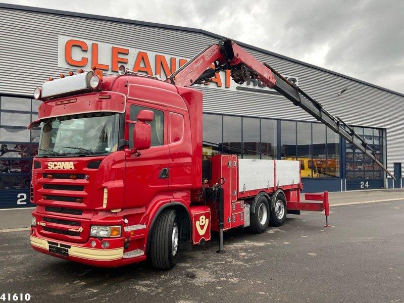 LKW des Typs Scania R 620 V8 Fassi 45 ton/meter laadkraan, Gebrauchtmaschine in ANDELST (Bild 1)