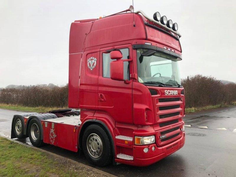 LKW tip Scania R560 NYSYNET Fuld luft. Hydraulik, Gebrauchtmaschine in Faaborg (Poză 1)