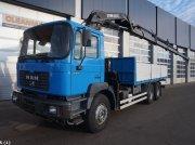 Sonstige M.A.N. 33.364 6x4 DF Hiab 24 ton/meter laadkraan Φορτηγό