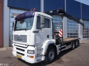 Sonstige M.A.N. TGA 28.350 Hiab 16 ton/meter laadkraan Nákladné auto