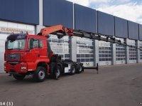 Sonstige M.A.N. TGA 35.480 8x4 Palfinger 100 ton/meter laadkraan Φορτηγό