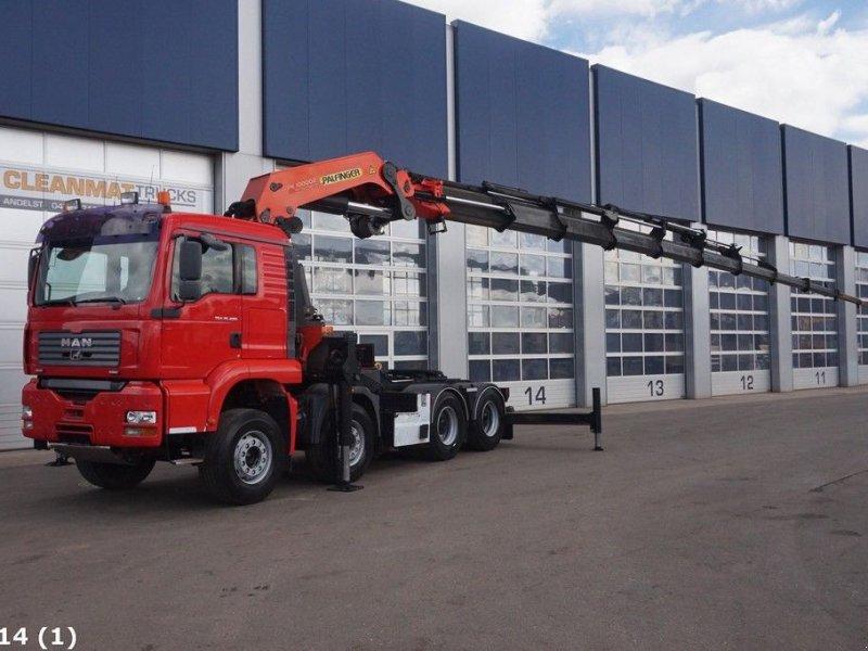 LKW tip Sonstige M.A.N. TGA 35.480 8x4 Palfinger 100 ton/meter laadkraan, Gebrauchtmaschine in ANDELST (Poză 1)