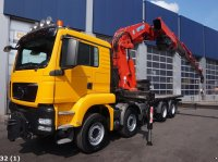 Sonstige M.A.N. TGS 35.480 BL 8x4 Effer 92 ton/meter laadkraan Nákladné auto