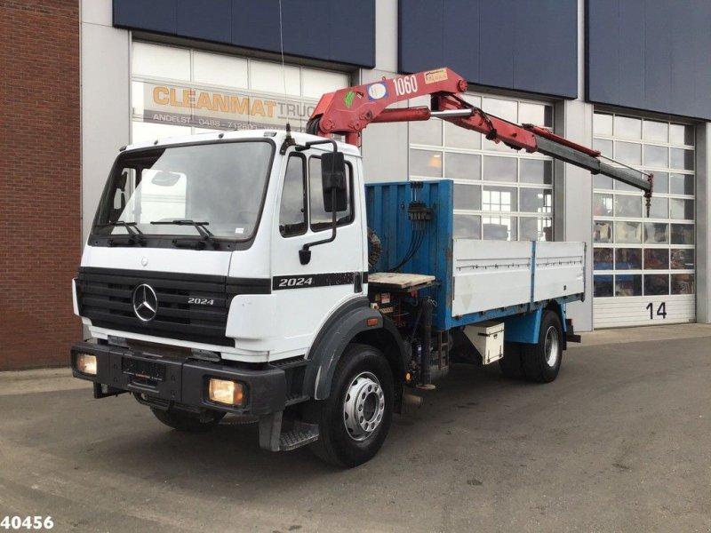 LKW a típus Sonstige Mercedes Benz 2024 SK HMF 10 ton/meter laadkraan, Gebrauchtmaschine ekkor: ANDELST (Kép 1)