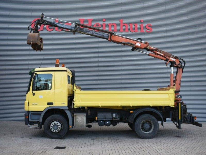Sonstige Mercedes Benz Actros 1836 4x2 Meiller Kipper Terex 120 2E-A2 crane  Radio remot Truck, 7609RL Almelo