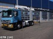 Sonstige Mercedes Benz ACTROS 2544 LS Euro 5 EEV HMF 42 ton/meter laadkraan kamionok
