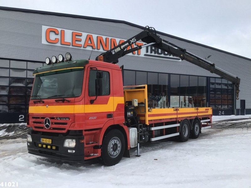 LKW типа Sonstige Mercedes Benz Actros 2632 Hiab 12 ton/meter laadkraan, Gebrauchtmaschine в ANDELST (Фотография 1)