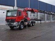 Sonstige Mercedes Benz Actros 3341 6x6 HMF 80 ton/meter laadkraan Φορτηγό