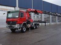 Sonstige Mercedes Benz Actros 3341 6x6 HMF 80 ton/meter laadkraan kamionok