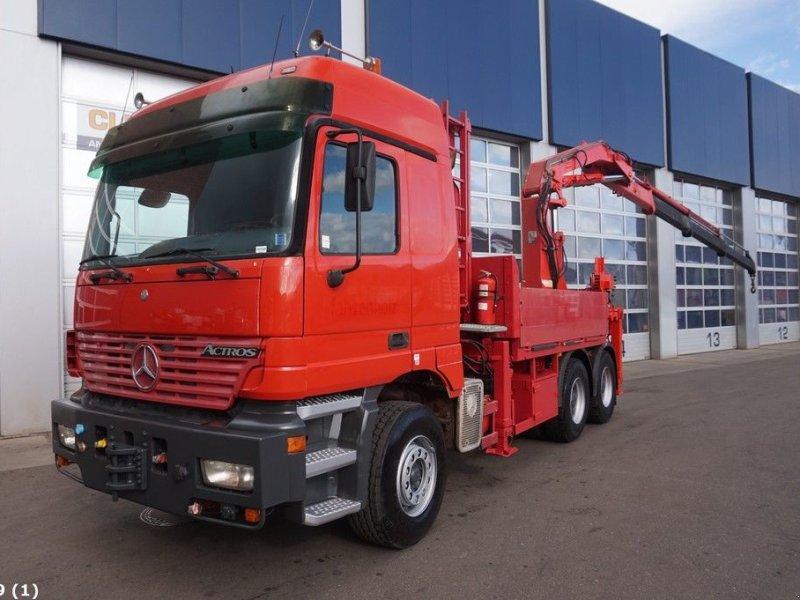LKW a típus Sonstige Mercedes Benz Actros 3353 V8 WSK 6x4 Atlas 30 ton/meter laadkraan, Gebrauchtmaschine ekkor: ANDELST (Kép 1)