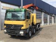 LKW typu Sonstige Mercedes Benz Actros 4150 V8 8x4 Palfinger 29 ton/meter laadkraan, Gebrauchtmaschine w ANDELST