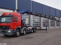 Sonstige Mercedes Benz Actros 4151 V8 8x4 Palfinger 100 ton/meter laadkraan LKW
